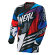 O'neal MAYHEM LITE Jersey GLITCH blue/red/gray