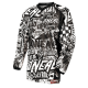 O'neal Element Jersey WILD black/white