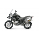 SCARICO AKRAPOVIC LINEA SLIP ON TITANIO OMOLOGATO BMW R1200 GS ADVENTURE 2004/09 S-B12SO2-HLTT
