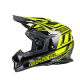 O' Neal 2Series EVO Helmet MANALISHI black/neon yellow