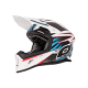 O' Neal 10Series Helmet Carbon Hangtown wht/blue/red